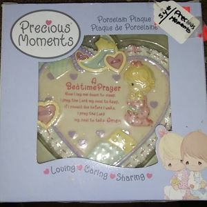 Precious Moments porcelain plaque